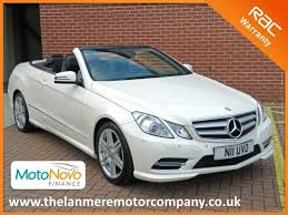 mercedes e class convertible for sale used 2012 62 mercedes e class e250 cdi sport low mileage