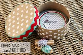 christmas tags gift box eighteen25