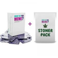 Meme Card Game - what do you meme card game stoner expansion pack hart heim