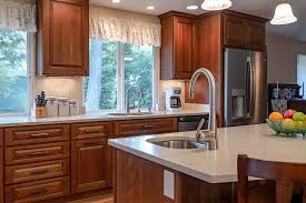 how to clean cherry wood cabinets design highlight a feature rich kitchen with luxury cherry
