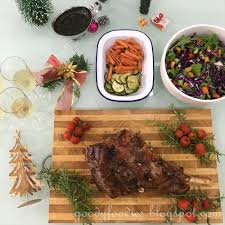 goodyfoodies recipe slow roasted leg of lamb with anchovies