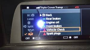 diy bmw e65 e66 750i 750li reset vehicle check on idrive youtube