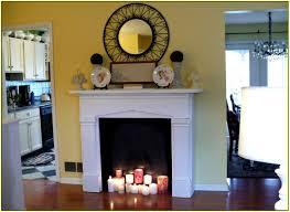 fake fireplace ideas home design ideas