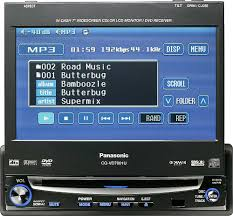 panasonic cq vd7001u in dash dvd player with 7