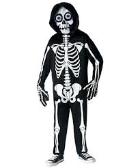 skeleton costumes fright light skeleton costume kids costumes