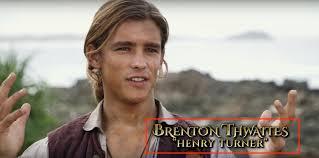 pirates of the caribbean 5 u0027 brenton thwaites plays will turner u0027s