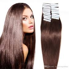 24 inch hair extensions 16 18 20 22 24inch 100 skin weft hair extension human