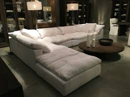 Large Sofa Sectionals by Inspiring Restoration Hardware Sectional Sofa 81 In Small Space