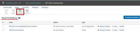 email invitations communities email invitations surveyanalytics online survey software