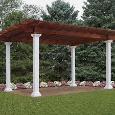 pergola styles artisan pergolas outdoor living play
