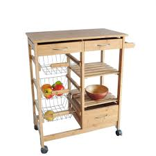 kitchen room wooden microwave cart ikea with storage and drawers