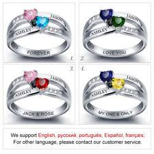 Rings With Names Engraved Personalized Ring Ebay