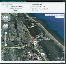 find location of phone number on map find us phone number location on map