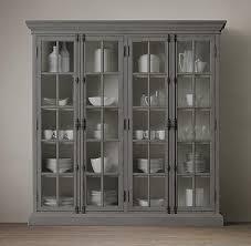 birch lane lisbon white china cabinet