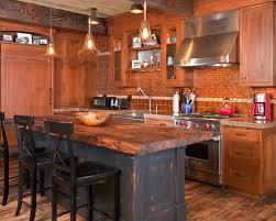 kitchen island wood countertop rustic wood countertop houzz