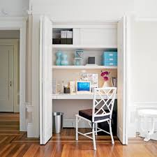 Home Office Ideas Sunset - Closet home office design ideas