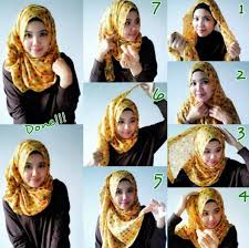 tutorial hijab pashmina tanpa dalaman ninja tutorial hijab