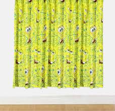 spongebob bathroom decor shower curtain u2014 office and bedroom