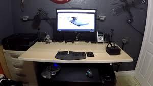 Ikea Standing Desk 22 by Jarvis Standing Motorized Desk Ikea Tabletop And Amazon Keyboard