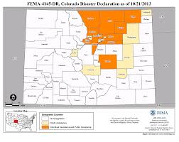 Counties In Colorado Map by Colorado Severe Storms Flooding Landslides And Mudslides Dr