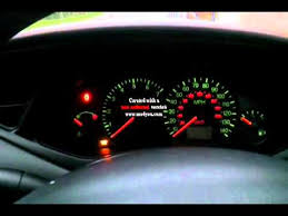 2003 ford focus instrument cluster lights ford focus 2003 dash lishts flashing please help anyone youtube