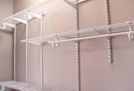 elegant closet shelving installation closet wire shelving