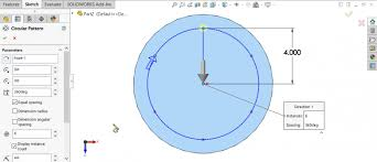edit sketch pattern in solidworks solidworks hole wizard with circular sketch pattern il tuttofare