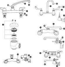 chicago faucet kitchen chicago faucet replacement parts schematics az partsmaster