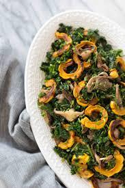 warm kale delicata squash salad wüsthof giveaway le petit eats