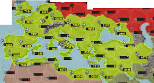 Holy Roman Empire Map Creating The Roman Empire In An Iphone Game Dragon Company