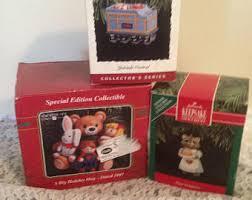 vintage ornaments hallmark collectibles carlton card