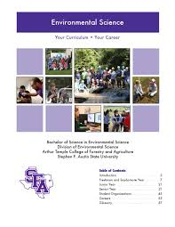 environmental science curriculum guide by arthur temple college of