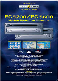 vdo dayton monitor navigation computer pc 5700 user manual 2