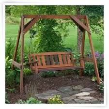 Patio Swing Frame by Rock Under Porch Swing With Frame Projects To Be Pinterest