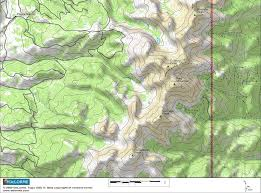 pikes peak topographic map topographic map
