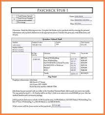 7 pay stub pdf template securitas paystub
