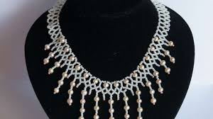 tutorial pearl necklace images How to make a magnificent pearl necklace diy style tutorial jpg