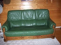 canape cuir et bois salon cuir bois occasion clasf