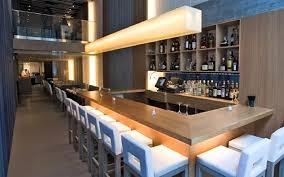 modern bar interior design aldea restaurant new york united