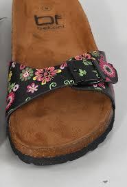 flower print one strap sandals shop shoes at papaya clothing