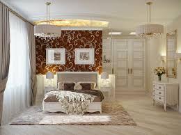 White Romantic Bedrooms Glamour Nuance Elegant Romance Interior Design Bedroom With