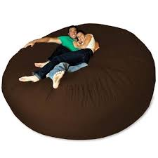 7 5 foot soft memory micro suede beanbag chair lounger products