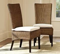 Rattan Dining Chair Brilliant Room Interior Design Ideas With - Wicker dining room chairs