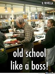 Old School Meme - old school by iltrivella meme center