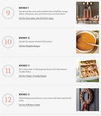 november 9 12 thanksgiving checklist martha stewart living