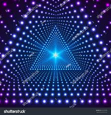 triangle grid lights light effects background stock illustration