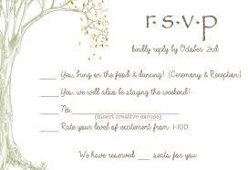 response card invitations rsvp card with meal choice wedding response card