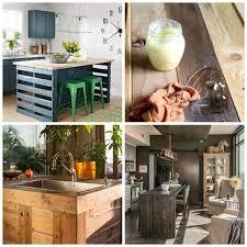 fabriquer bar cuisine fabriquer un bar de cuisine 3 206lot central en palette bar et