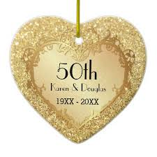 anniversary ornaments 116 best 50th anniversary gift ideas images on