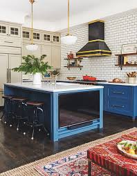 blue kitchen cabinets toronto 55 beautiful kitchens that make a for color house home